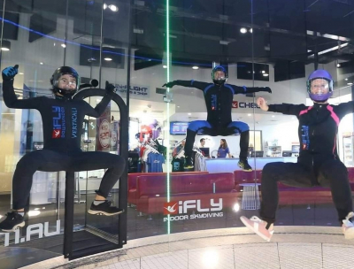 Family takes on new and exciting challenge at iFLY