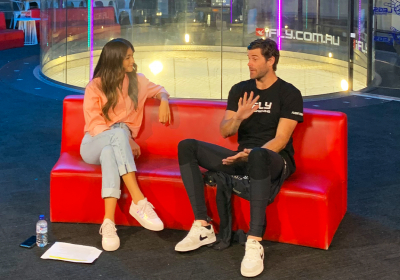 SportE!: iFLY's Jimmy Cooper Gives Francesca Hung a Skydiving Experience to Remember