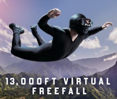 ALL NEW - iFLY 360 Virtual Reality Experience