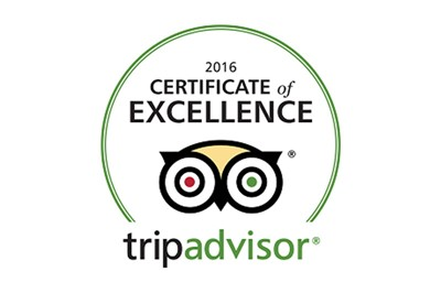 Trip Advisor Certificate of Excellence - iFLY Australia